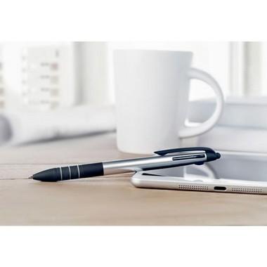 Bolígrafo táctil de tres tinta Multipen