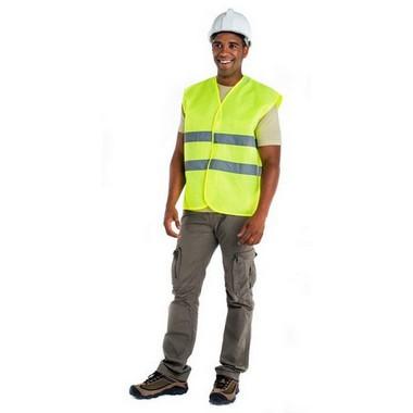 Chaleco fluorescente Seguridad Roly
