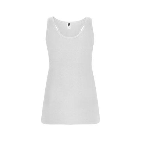 Camiseta tirantes blanca Brenda niña