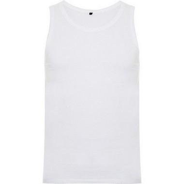 Camiseta tirantes Roly Texas Blanca
