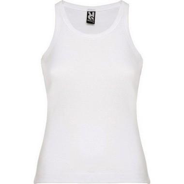 Camiseta tirantes Roly Laredo Blanca
