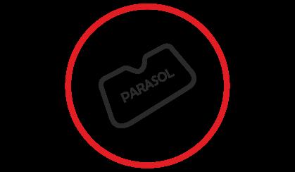 Parasoles para coches personalizados y publicitarios